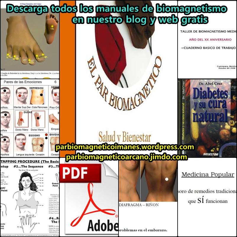 descarga todos los manuales en pdf de biomagnetismo